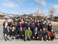 去年の様子(姫路城)