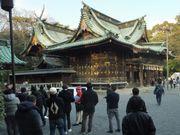 重要文化財の本殿(三嶋神社)