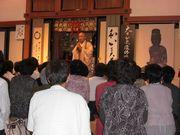 昨年開催された見学会/福井県大安禅寺にて