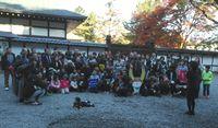 彦根城にて集合写真