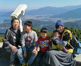 山頂公園からの雄大な絶景