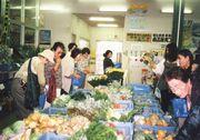 新鮮な野菜がいっぱい