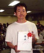 見事、優勝した松井誠さん