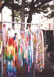 色鮮やかな18万羽の鶴