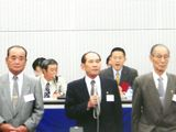 第31回定期大会にて勇退(2003年)
