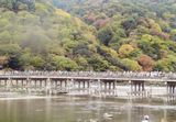 嵐山と渡月橋