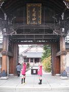 高山を自由散策、お寺に訪れて