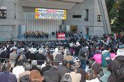 昨年11月24日に全国から6,074名の仲間が集結した中央総決起大会