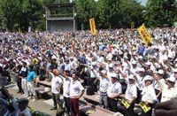 3,937人の仲間が集結 団結ガンバロウ