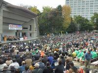 夏と秋の中央総決起大会に全国から仲間が集結