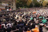 中央総決起大会に全国から仲間が集まった