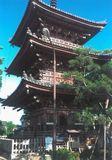 甚目寺観音の三重塔